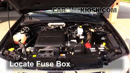 Replace a Fuse: 2005-2012 Ford Escape - 2011 Ford Escape XLT