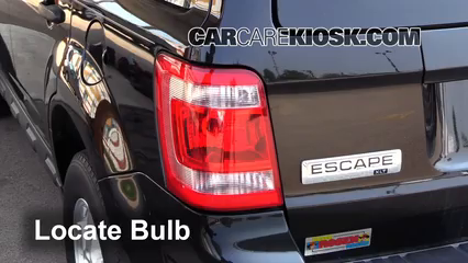 2011 Ford Escape XLT 3.0L V6 FlexFuel Luces