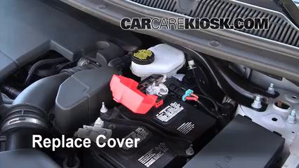Replace Cover Ensure The Cover Is Put Back Properly