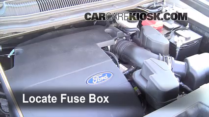 2011 Ford Explorer XLT 3.5L V6%2FFuse Engine Part 1 replace a fuse 2011 2016 ford explorer 2011 ford explorer xlt 2014 ford explorer fuse box at crackthecode.co