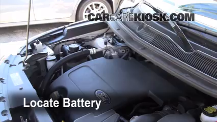 2011 Ford Explorer XLT 3.5L V6 Battery Jumpstart