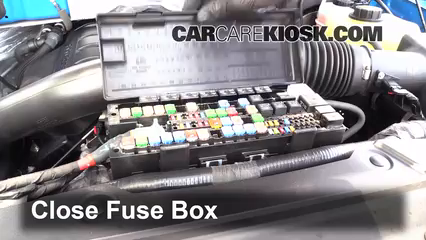 blown fuse check 2009 2014 ford f 150 2011 ford f 150 xlt 3 5l v6 05 Ford F-150 Fuse Diagram 6 replace cover secure the cover and test component