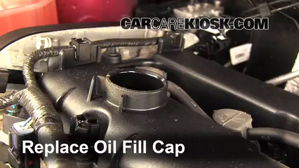 Put The Oil Fill Cap Back On The Engine