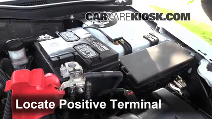How To Jumpstart A 2010 2012 Ford Fusion 2011 Ford Fusion Sel
