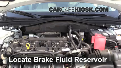 2011 Ford Fusion SEL 2.5L 4 Cyl. Brake Fluid