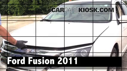 2011 Ford Fusion SEL 2.5L 4 Cyl. Review