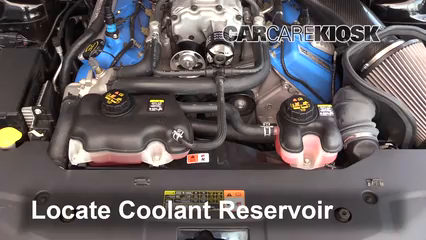 2011 Ford Mustang Shelby GT500 5.4L V8 Supercharged Coupe Fluid Leaks