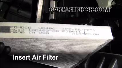 2010-2019 Ford Taurus Cabin Air Filter Check - 2011 Ford Taurus SEL