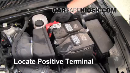 How to Jumpstart a 2010-2019 Ford Taurus - 2011 Ford Taurus SEL 3 5L V6