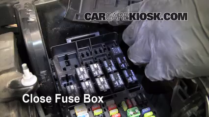 2011 Ford Taurus SEL 3.5L V6%2FFuse Engine Part 2 replace a fuse 2010 2015 ford taurus 2011 ford taurus sel 3 5l v6 2010 taurus fuse box at cos-gaming.co