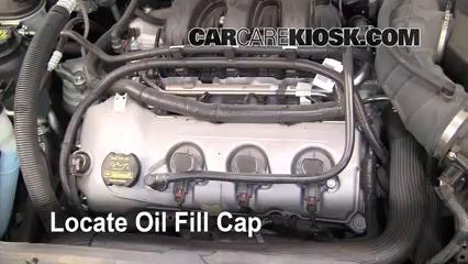 Oil Filter Change Ford Taurus  Ford Taurus Sel  L V
