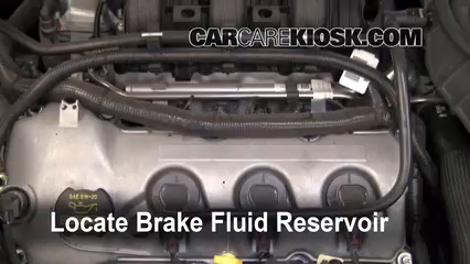 2011 Ford Taurus SEL 3.5L V6 Brake Fluid Add Fluid