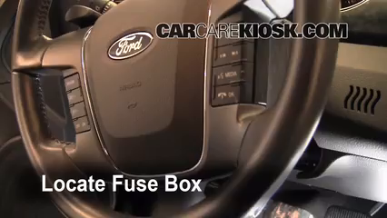 Interior Fuse Box Location 2010 2015 Ford Taurus 2011 Ford - Wiring Diagram