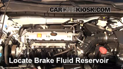2011 Honda Accord LX 2.4L 4 Cyl. Brake Fluid