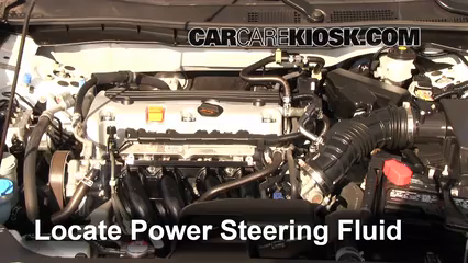2011 Honda Accord LX 2.4L 4 Cyl. Power Steering Fluid