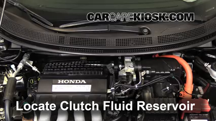 2011 Honda CR-Z EX 1.5L 4 Cyl. Transmission Fluid Add Fluid