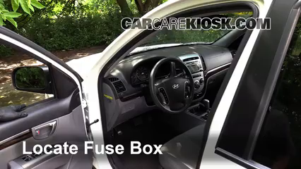 Fuse Interior Part 1 interior fuse box location 2007 2012 hyundai santa fe 2011  at gsmx.co
