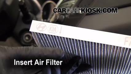 2011 2015 Hyundai Sonata Cabin Air Filter Check 2011