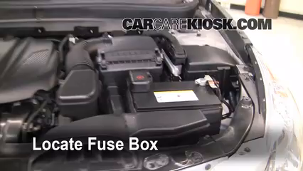 2011 Hyundai Sonata GLS 2.4L 4 Cyl.%2FFuse Engine Part 1 replace a fuse 2011 2015 hyundai sonata 2011 hyundai sonata gls 2011 hyundai sonata fuse box diagram at readyjetset.co