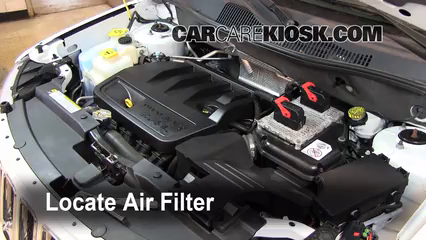 2011 Jeep Compass 2.4L 4 Cyl. Air Filter (Engine) Replace