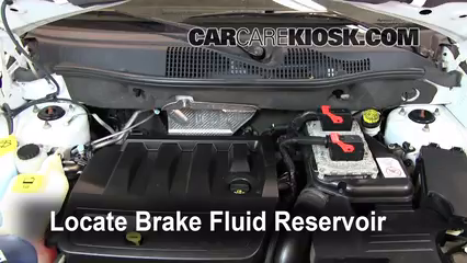2011 Jeep Compass 2.4L 4 Cyl. Brake Fluid