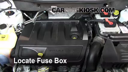 2008 Jeep Compass Interior Fuse Box Location – Dodge Avenger Fuse Box Location