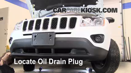 2011 Jeep Compass 2.4L 4 Cyl. Oil Change Oil and Oil Filter