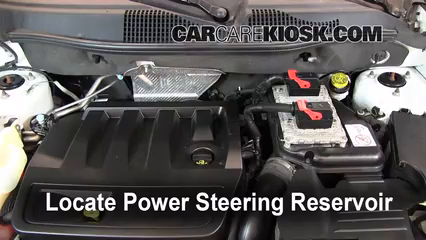 2011 Jeep Compass 2.4L 4 Cyl. Fluid Leaks Power Steering Fluid (fix leaks)