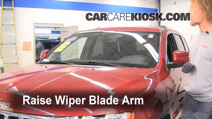 2011 Jeep Grand Cherokee Laredo 3.6L V6 Windshield Wiper Blade (Front)