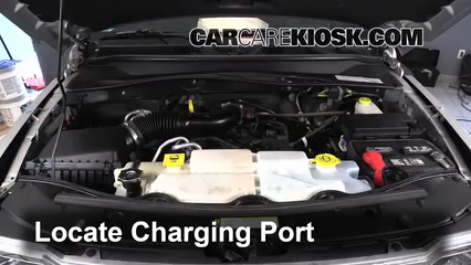 How To Add Refrigerant To A 2008 2012 Jeep Liberty 2011 Jeep