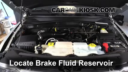 2011 Jeep Liberty Sport 3.7L V6 Brake Fluid