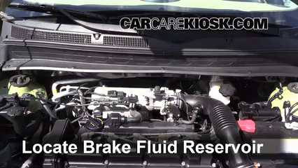 2011 Kia Soul Plus 2.0L 4 Cyl. Brake Fluid
