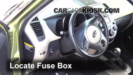 interior fuse box location 2010 2013 kia soul 2011 kia soul plus kia soul blower hvac 2011 kia soul plus 2 0l 4 cyl fuse (interior) check