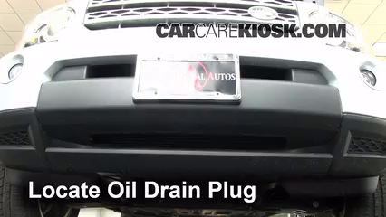 Oil Filter Change Land Rover LR Land Rover - Land rover oil change