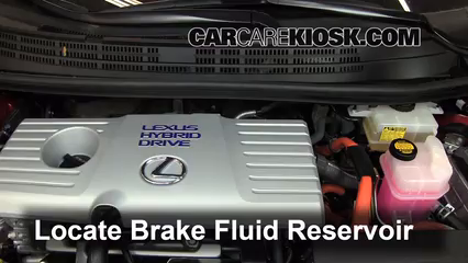 2011 Lexus CT200h 1.8L 4 Cyl. Brake Fluid