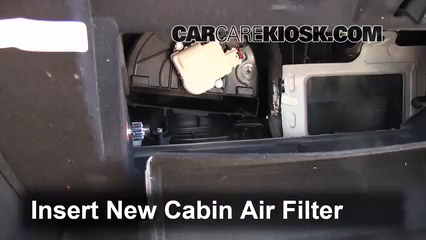 Cabin Filter Replacement: Lincoln MKS 2009-2016 - 2011 ...