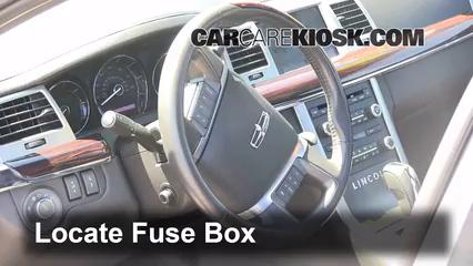 2011 Lincoln MKS 3.7L V6%2FFuse Interior Part 1 interior fuse box location 2009 2016 lincoln mks 2011 lincoln mks