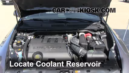 2011 Lincoln MKS 3.7L V6 Coolant (Antifreeze) Flush Coolant