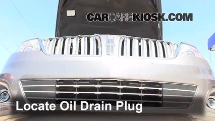 Oil & Filter Change Lincoln MKS (2009-2016) - 2011 Lincoln MKS 3.7L V6