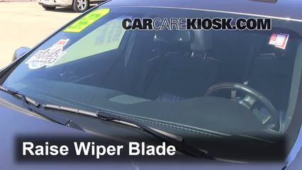 2011 Lincoln MKS 3.7L V6 Windshield Wiper Blade (Front) Replace Wiper Blades
