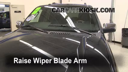 2011 Lincoln Navigator L 5.4L V8 FlexFuel Windshield Wiper Blade (Front) Replace Wiper Blades
