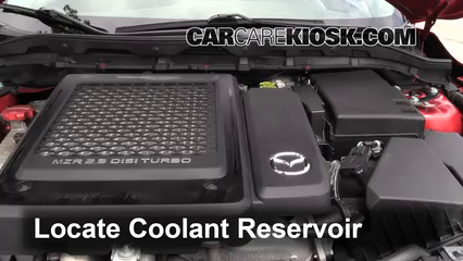 2011 Mazda 3 Mazdaspeed 2.3L 4 Cyl. Turbo Coolant (Antifreeze) Flush Coolant