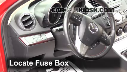 2010 mazda 3 fuse box location interior fuse box location 2010 2013 mazda 3 2011 mazda 3 s 2 5  interior fuse box location 2010 2013