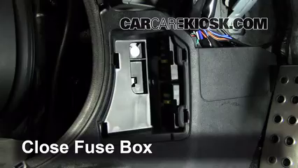interior fuse box location: 2006-2015 mazda mx-5 miata - 2011 mazda mx-5  miata grand touring 2 0l 4 cyl