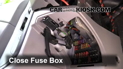 Interior Fuse Box Location 2007 2017 Mercedes Benz