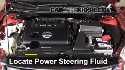 2009 nissan altima power steering pump replacement
