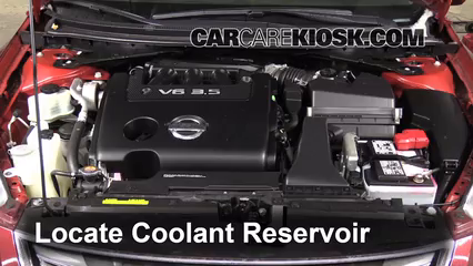 2011 Nissan Altima SR 3.5L V6 Sedan Coolant (Antifreeze) Flush Coolant
