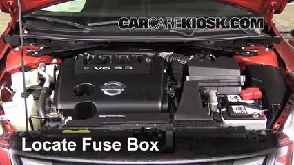 Replace A Fuse 20072013 Nissan Altima 2011 Sr 35l. Replace A Fuse 20072013 Nissan Altima. Nissan. 2016 Nissan Sr Engine Diagram At Scoala.co