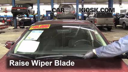 front wiper blade change nissan altima (2007-2013) - 2011 nissan