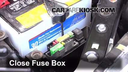 replace a fuse 2009 2014 nissan cube 2011 nissan cube s 1 8l 4 cyl rh carcarekiosk com 2010 Nissan Rogue Fuse Panel 2010 Nissan Rogue Fuse Box